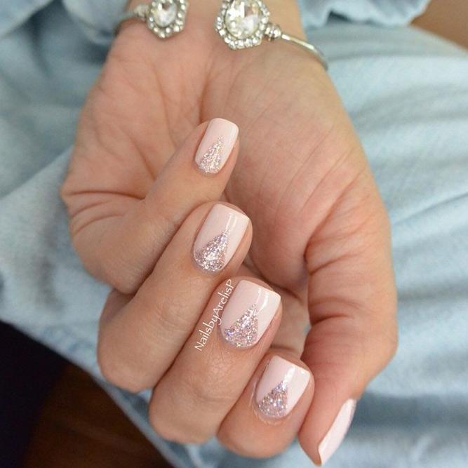 Pretty Glitter Nails picture 2