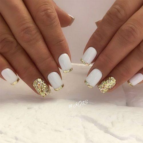 Pretty Glitter Nails picture 3