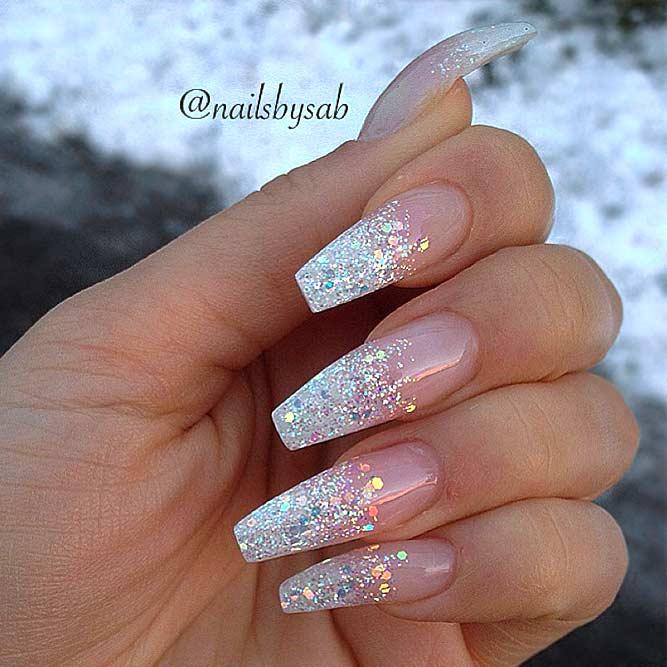 Pretty Glitter Nails picture 5