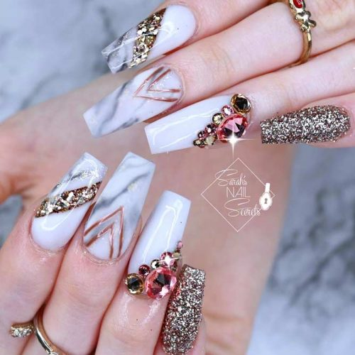 36 Amazing Prom Nails Designs Queen S Top 2019