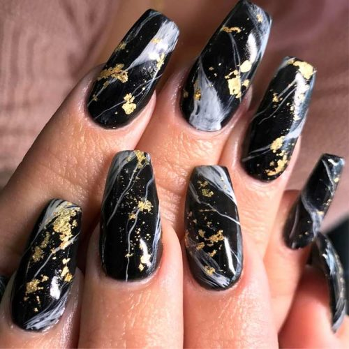Marble Nail Designs for Prom picture3