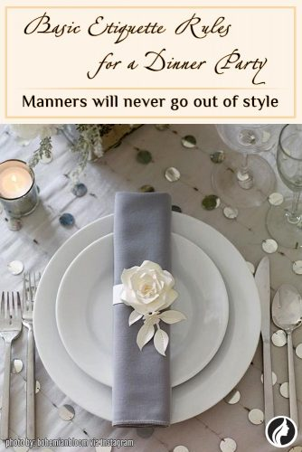 Etiquette Rule - Remember Your Basic Manners