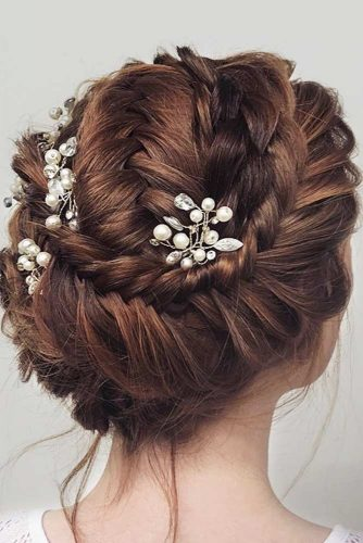 Updos With Neat Braids To Embrace Your Beauty picture 2