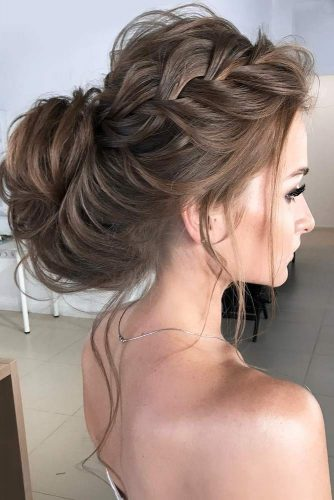 Trendy Updo Hairstyles for Beautiful Prom Look picture1