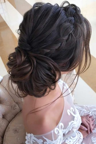 Elegant Braided Low Bun picture 4