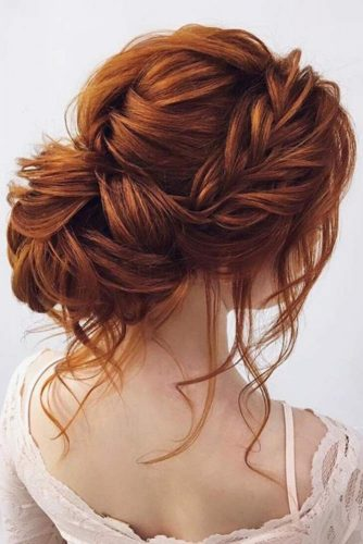 Elegant Braided Low Bun picture 1