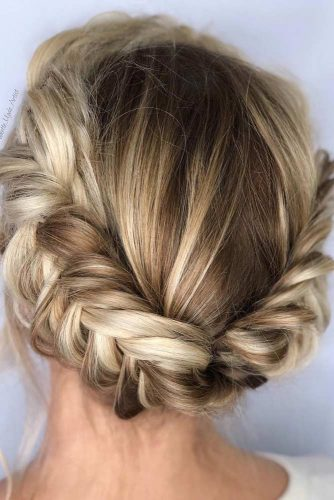 Updos With Neat Braids To Embrace Your Beauty picture 1