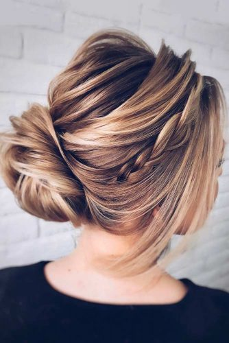 Elegant Braided Low Bun picture 3