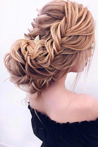 A Little Bit Messy Updo For Long Year #messyupdo #longhairstyles