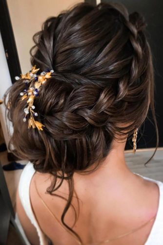 Elegant Braided Low Bun picture 6