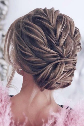Elegant Braided Low Bun picture 2