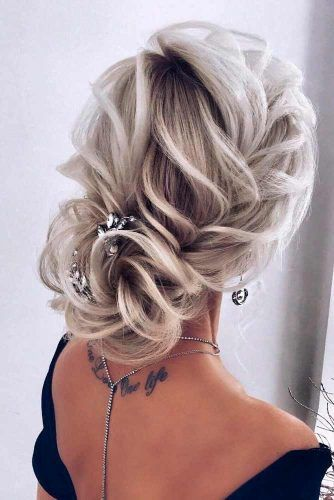Textured Updo With Accessory #accessoryhairstyles #texturedhair