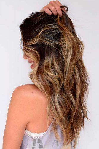 Caramel Haighlights #hairhighlights