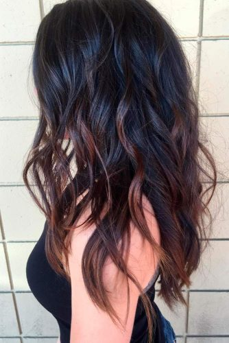 Adorable Dark Chocolate Ombre Tones picture1