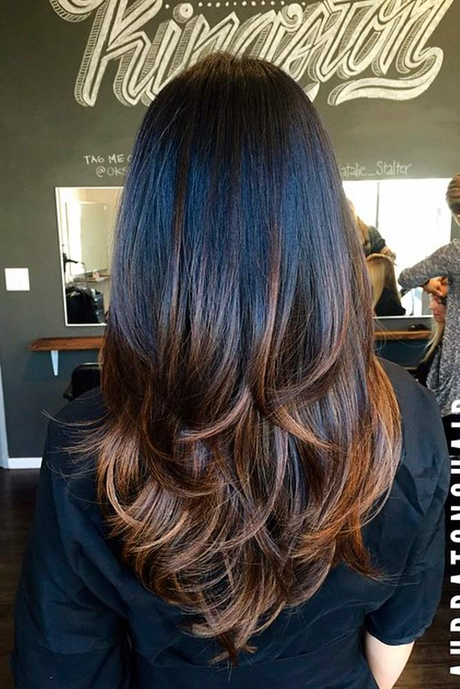Adorable Dark Chocolate Ombre Tones picture3