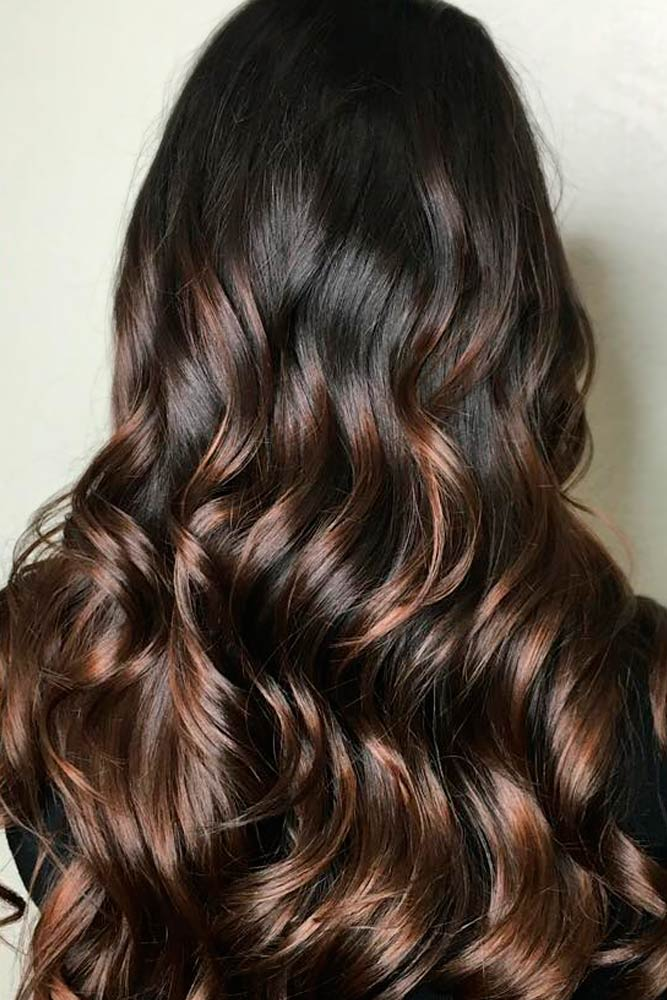 Adorable Dark Chocolate Ombre Tones picture5