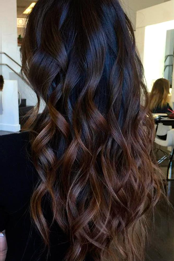 Adorable Dark Chocolate Ombre Tones picture6