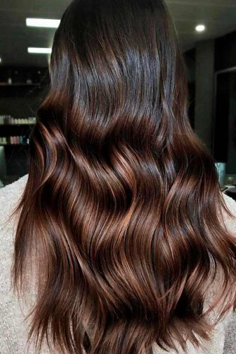 Adorable Dark Chocolate Ombre Tones picture 4