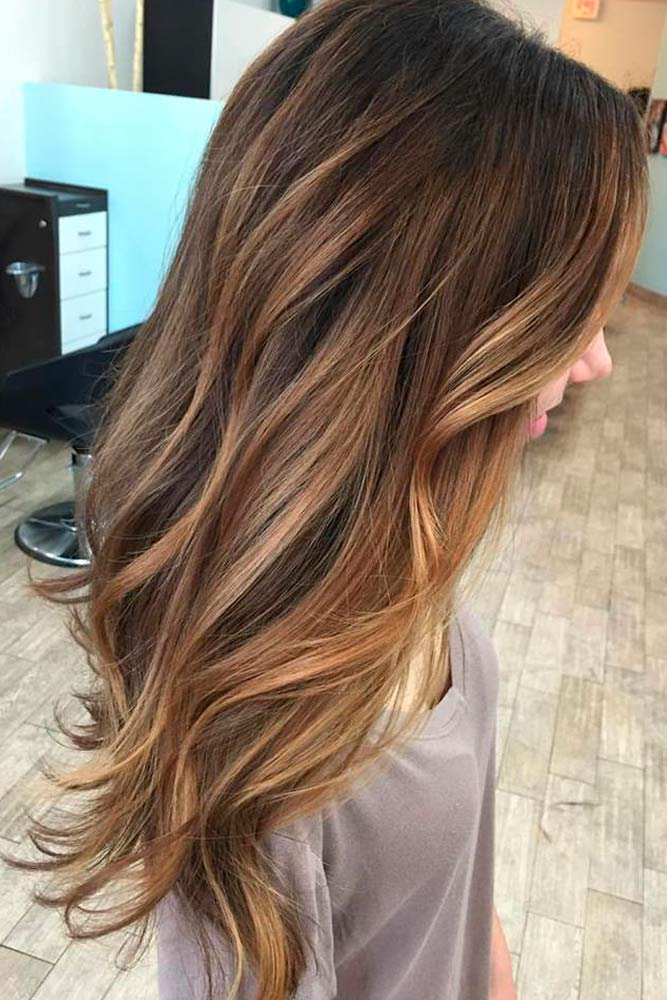 Caramel Ombre Hair Color for Brunettes picture2
