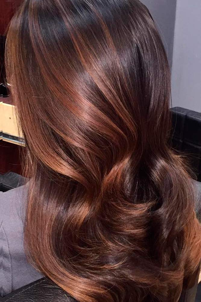 Deep Cooper Ombre for Brown Hair picture1