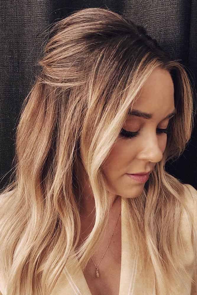Bronde Hair With Highlights #brondehair #blondehairstyles