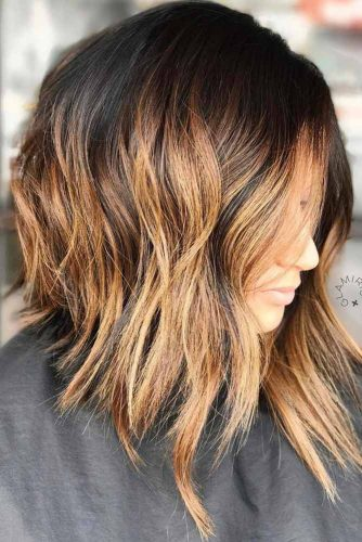 Short Haircut With Brown Ombre #shorthair #haircut