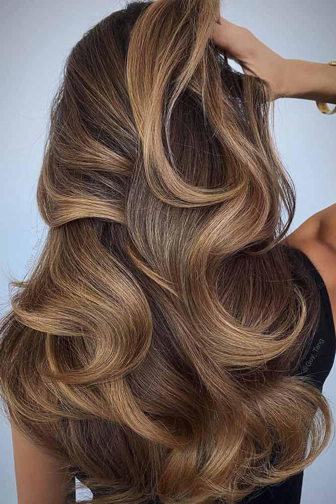 Classic Brown Ombre #classicombre #brownhairshade