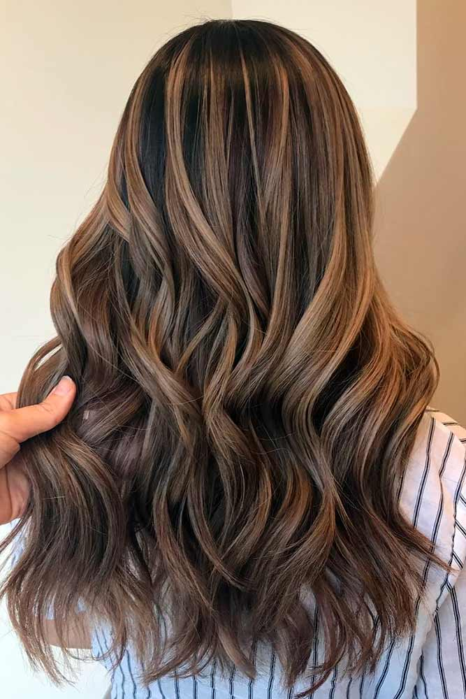 Trendy Brown Ombre Hairstyle picture 1