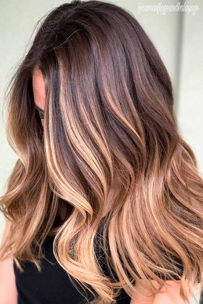 Trendy Brown Ombre Hairstyle picture 2