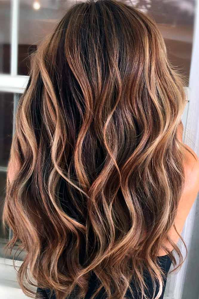 Trendy Brown Ombre Hairstyle picture 4