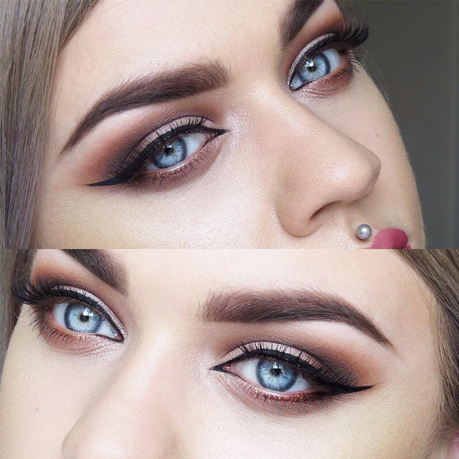 Gorgeous Cat Eye Makeup Ideas picture 1