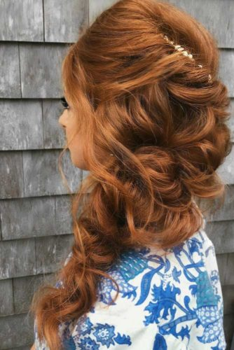Cute Side Swept Hairstyles for Prom picture 3