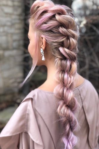 Lovely Prom Look With Any Type Of Braids picture 3