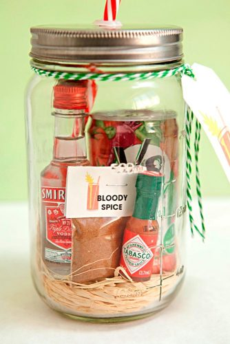 Alcohol Mason Jar Gifts Ideas picture 2