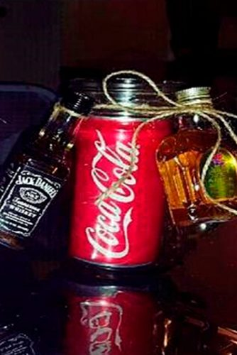 Alcohol Mason Jar Gifts Ideas picture 1