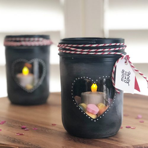 Candle Holder Mason Jar Gift #candleholder