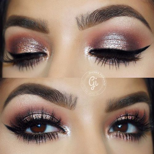 Beautiful Eye Makeup Ideas fo Prom picture 2