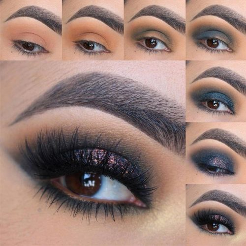 Prom Eye Makeup Step by Step picture 3