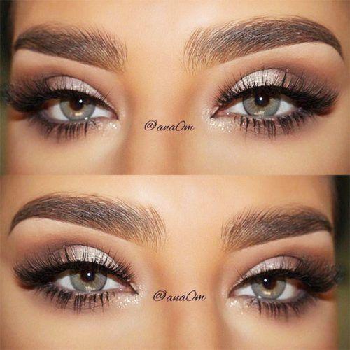 Soft Shimmer Smokey Eyes #smokeyeyes