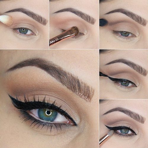 Eye Makeup Tutorials with Eyeliner picture 2