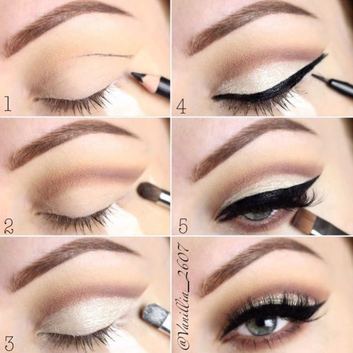 Eye Makeup Tutorials with Eyeliner picture 3