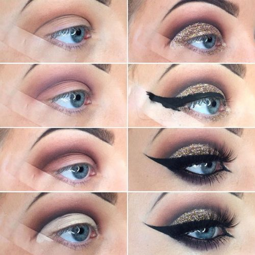 Glitter Eye Makeup picture 3
