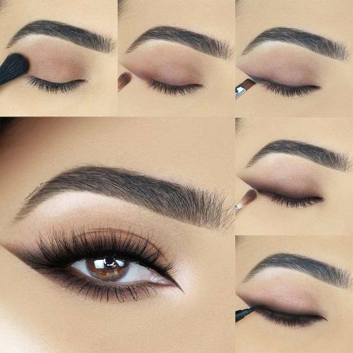 Smudge Matte Eyeliner Makeup Tutorial #matteeyeliner