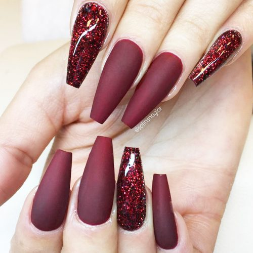 Glitter Accents For Graduation Nails To Inspire You picture 2