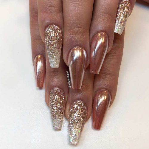 Glitter Accents For Graduation Nails To Inspire You picture6
