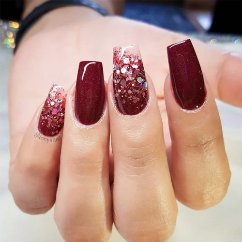 Glitter Accents For Graduation Nails To Inspire You picture 5