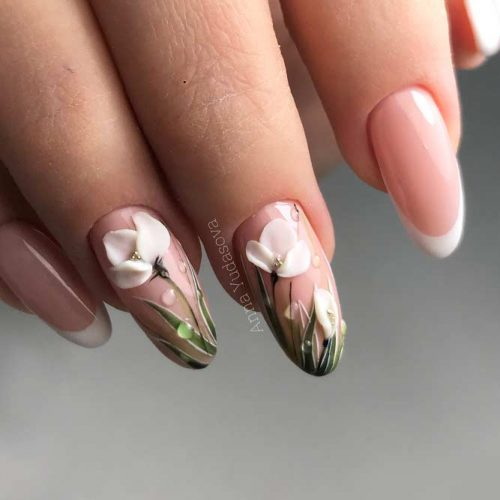 Nature Inspired Graduation Nail Arts picture5