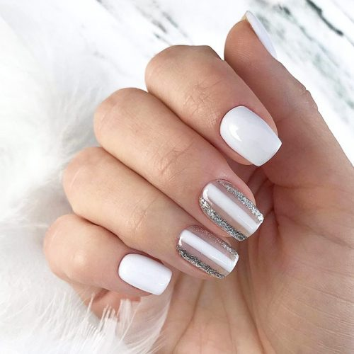 Glitter Accents For Graduation Nails To Inspire You picture 4