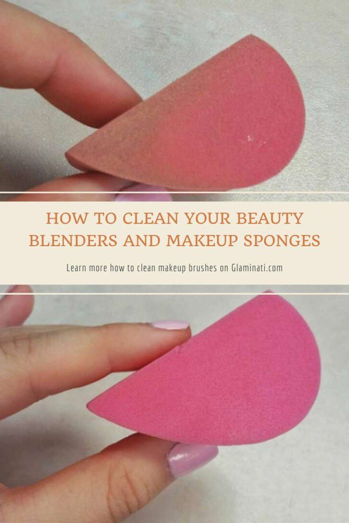 How To Clean Your Beauty Blenders And Makeup Sponges #blenderscleaning #spongescleaning