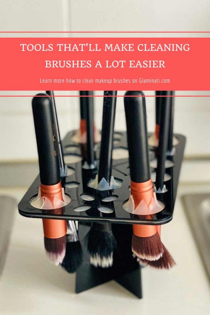 Makeup Brush Drying Rack #dryingrack